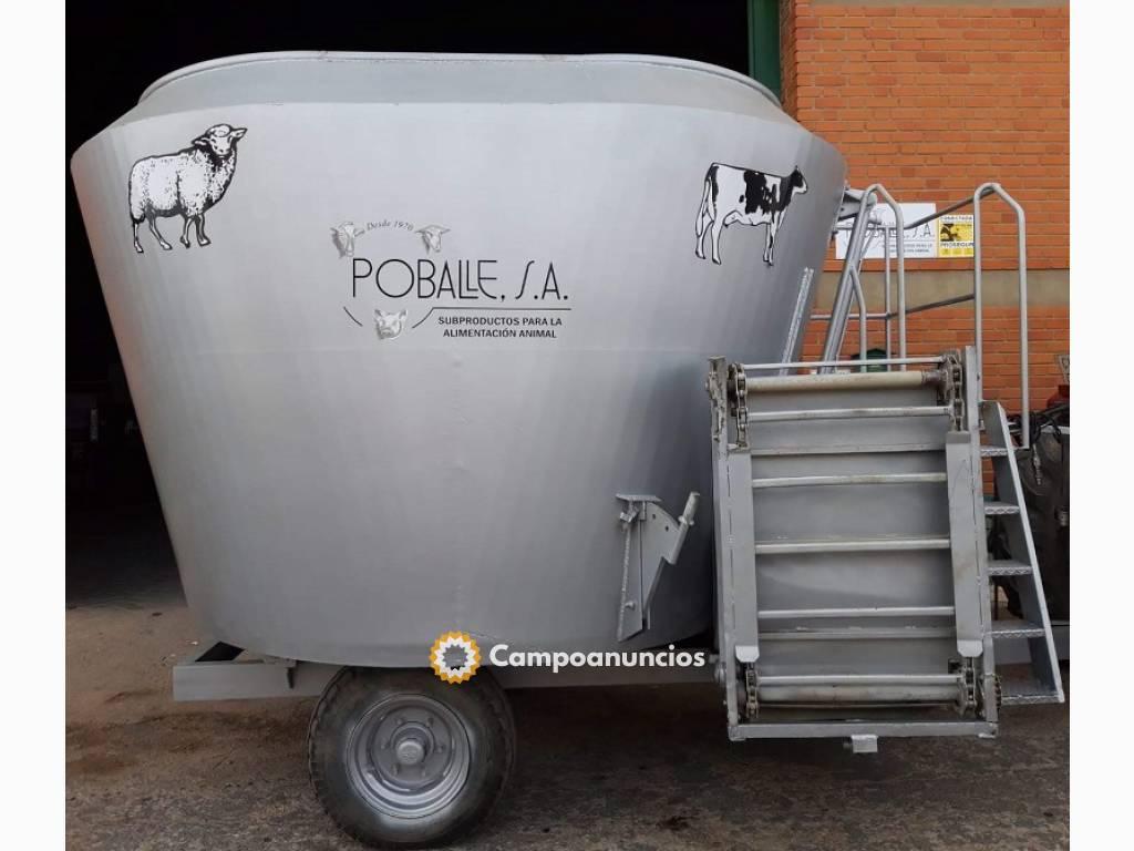 Carro mezclador Unifeed  Compar 12m 3 en Cuenca